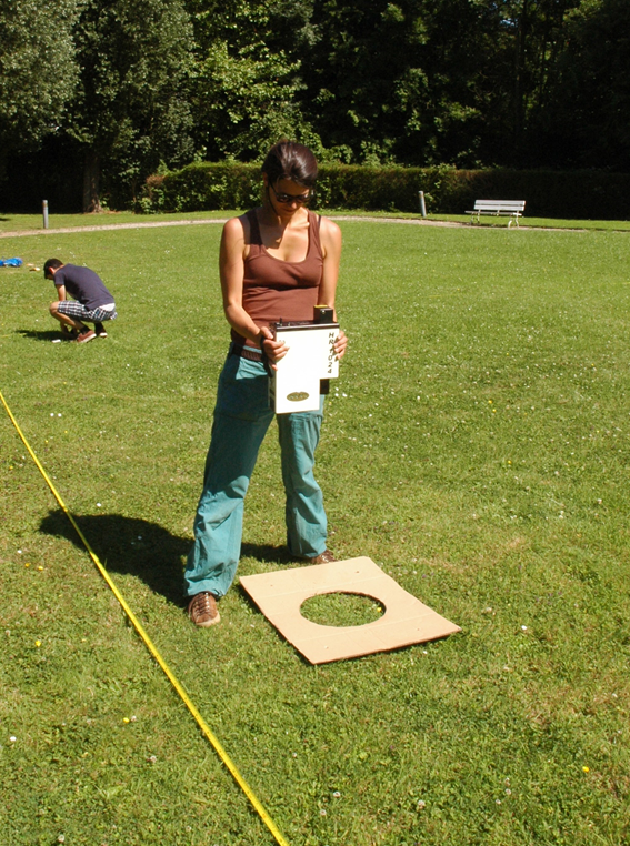 "In-situ reference measurements at the Belair study site ""Sonia"""